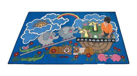 Joy Carpet Noah's Ark Rug