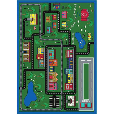 Joy Carpet Tiny Town Rug