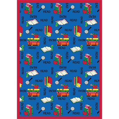 Joy Carpet Bookworm Rug - Blue