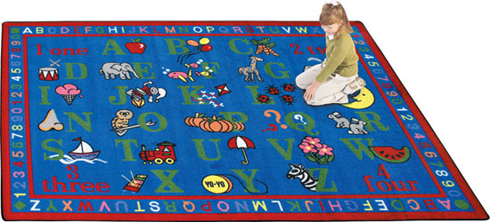 Joy Carpet Phonics Fun Rug