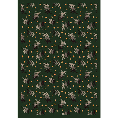 Joy Carpet Fitness Zone Rug - Sage
