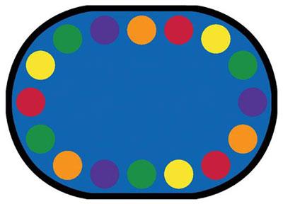 Joy Carpet Lots of Dots Rug