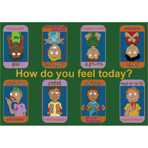 Joy Carpet Signs of Emotions Rug