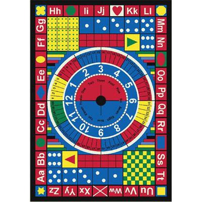 Joy Carpet Teach-A-Tot Rug