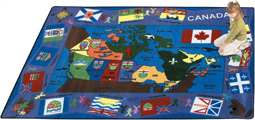 Joy Carpet Flags of Canada Rug