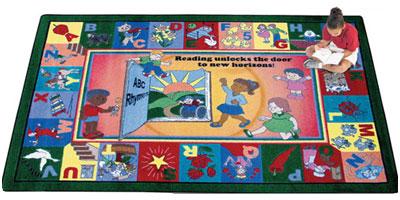 Joy Carpet Read and Rhyme Rug