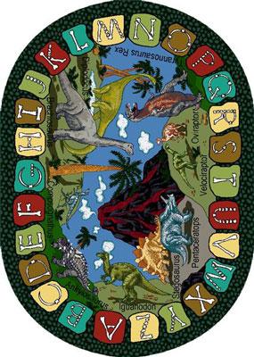 Joy Carpet We Dig Dinosaurs Rug