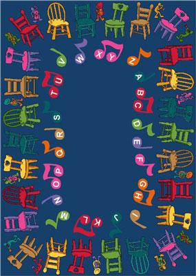 Joy Carpet Musical Chairs Rug