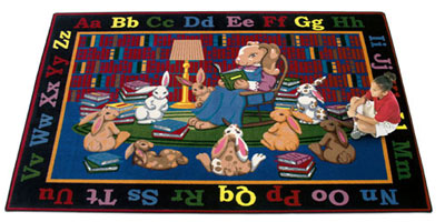 Joy Carpet Reading Rocks Rug