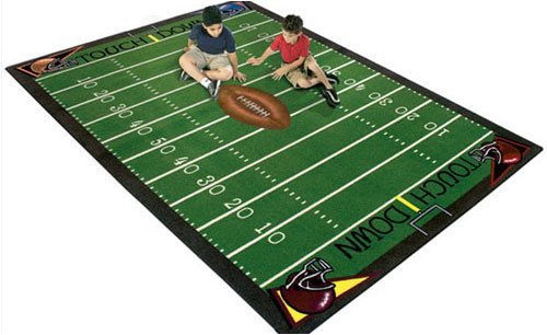 football rugs semblance