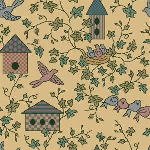 Joy Carpet Sweet Tweet Rug - Gold