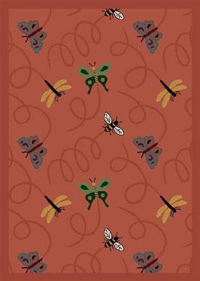Joy Carpet Wing Dings Rug - Rose