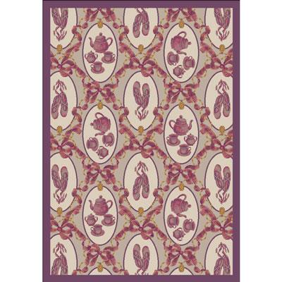 Joy Carpet Ribbons and Bows Rug - Taupe
