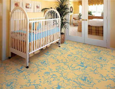 Joy Carpet Fancy Fiddler Rug - Gold