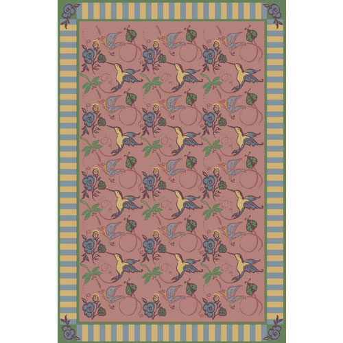 Joy Carpet Flights of Fantasy Rug - Rose