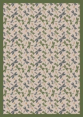 Joy Carpet Dragonflies Rug - Beige