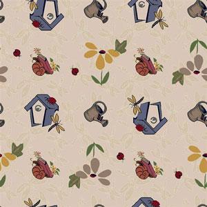 Joy Carpet Flower Garden Rug - Beige