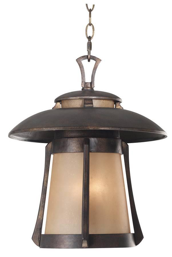 Kenroy Home Laguna Hanging Lantern - Golden Bronze 03197