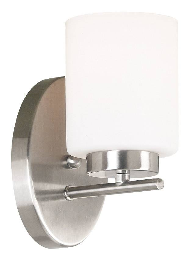 Kenroy Home Mezzanine Sconce - Brushed Steel
