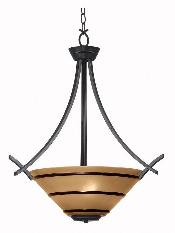 Kenroy Home Wright 3 Light Pendant 90084ORB