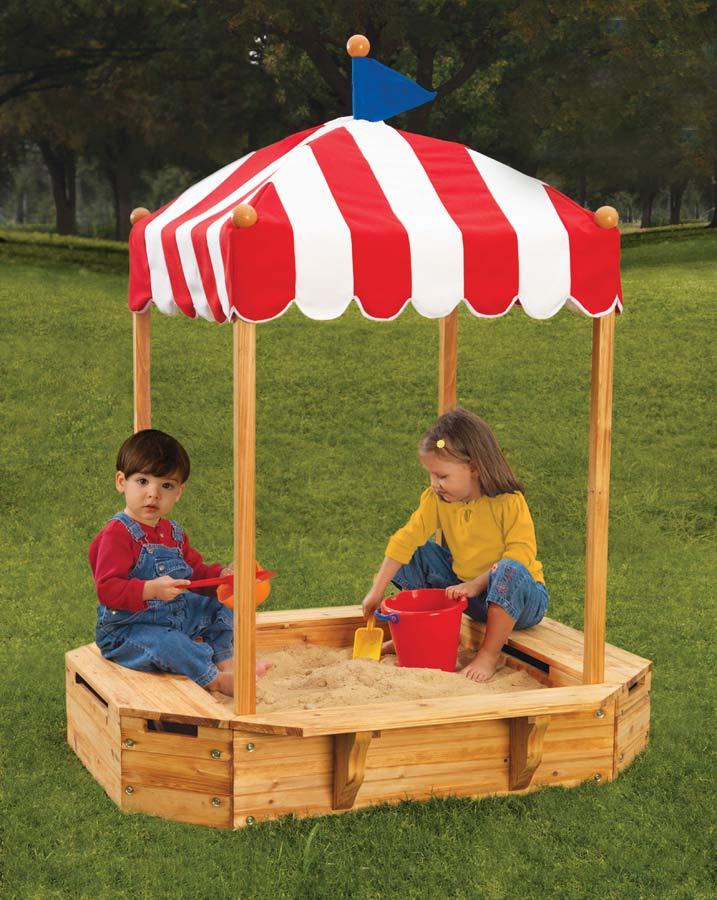 KidKraft Big Top Sand Box