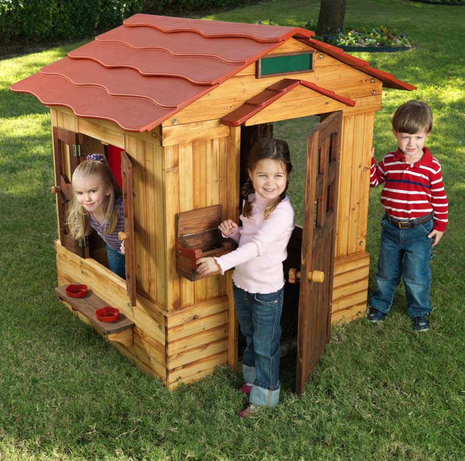 Cheap KidKraft Outdoor Playhouse