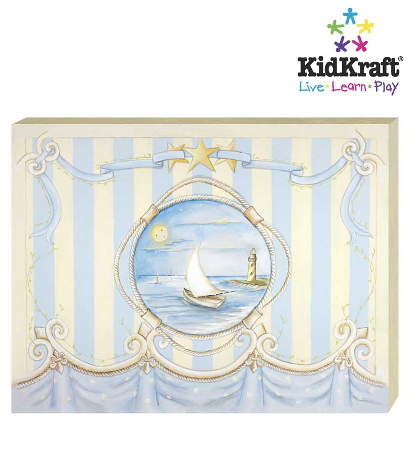 KidKraft Drift Away Canvas Art Painting - Kidkraft