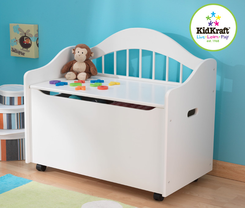 Limited Edition Toy Box - White - KidKraft