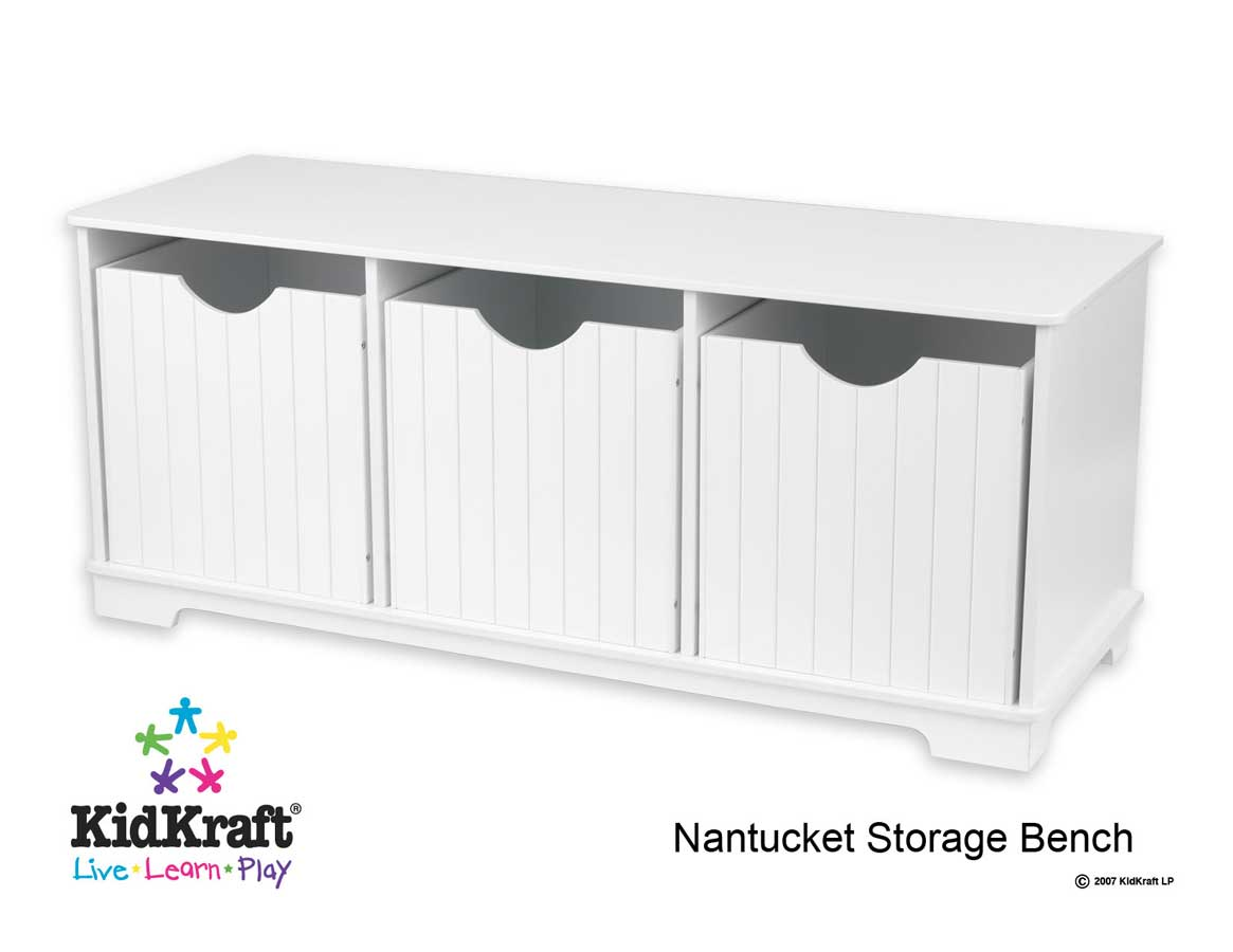 Cheap KidKraft Nantucket Storage Bench