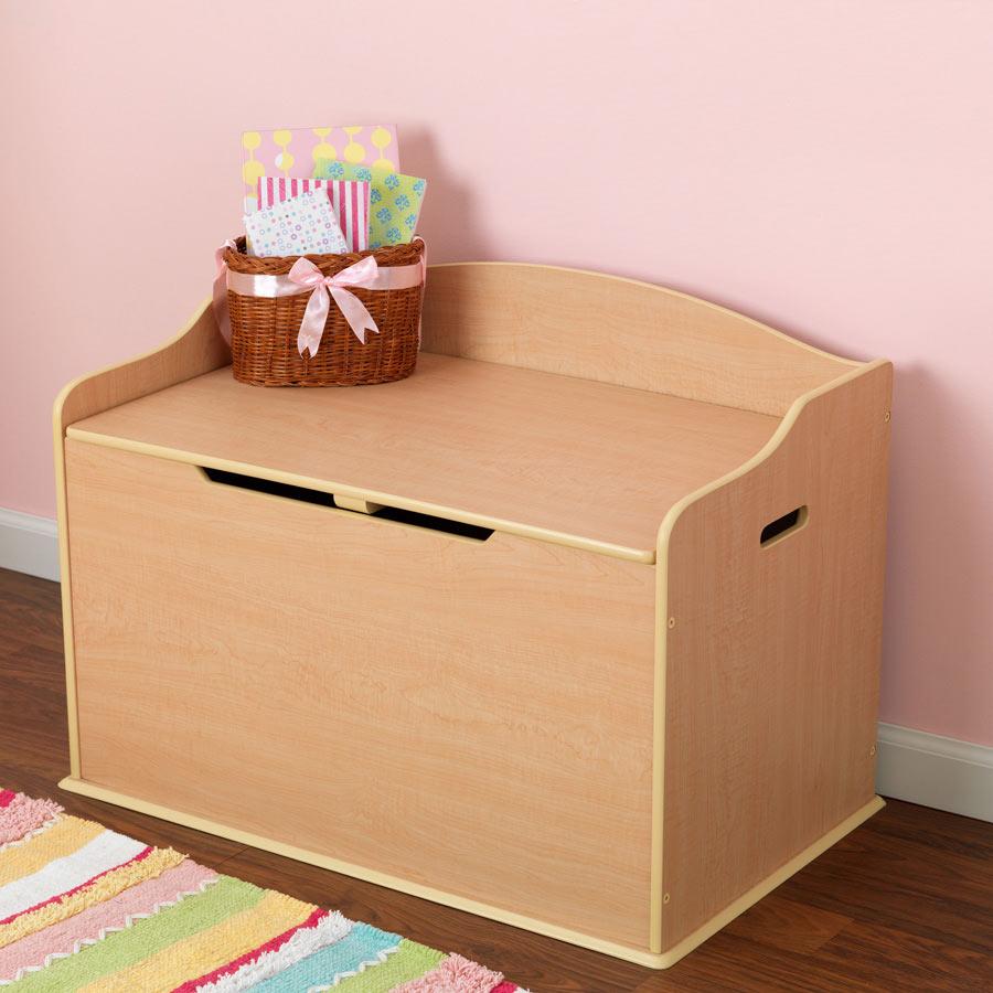 Kidkraft austin toy box natural 14953 - Kidkraft Austin Toy Box Natural