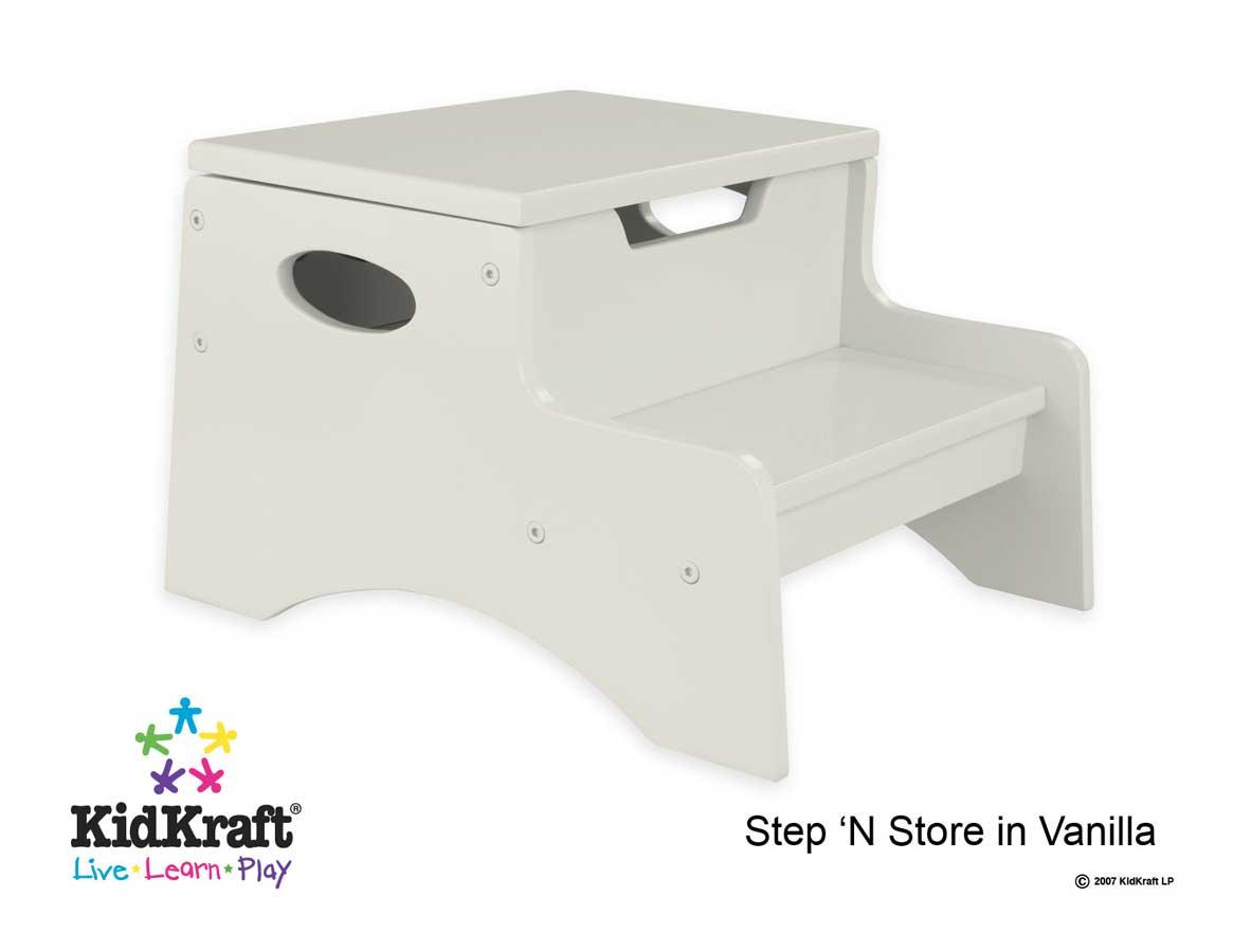 KidKraft Step 'N Store- Vanilla - Kidkraft