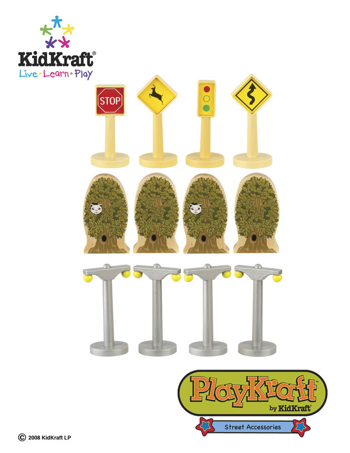 KidKraft Street Train Set Accessories - PlayKraft by Kidkraft