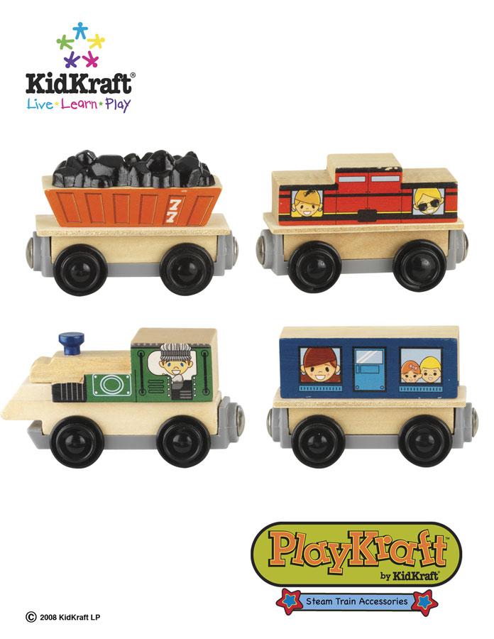 KidKraft Steam Train Set Accessories - PlayKraft by Kidkraft