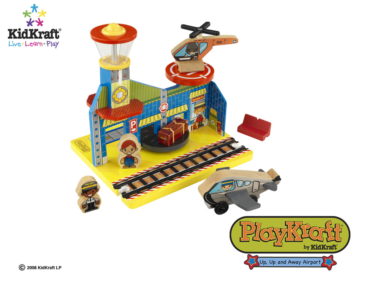 KidKraft Up Up and Away Airport Train Set Accessories - PlayKraft by Kidkraft