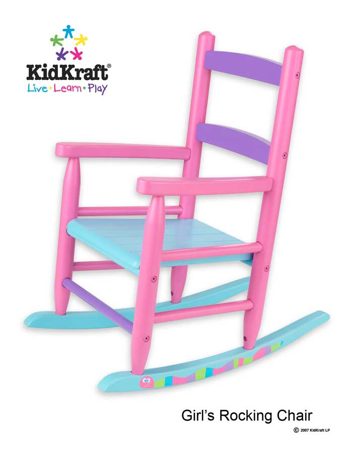 KidKraft Pink Caterpillar Rocking Chair - Kidkraft
