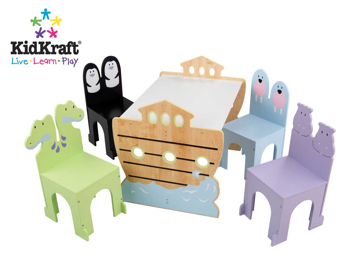 Cheap Noah's Ark Table and Chair Set – Kidkraft
