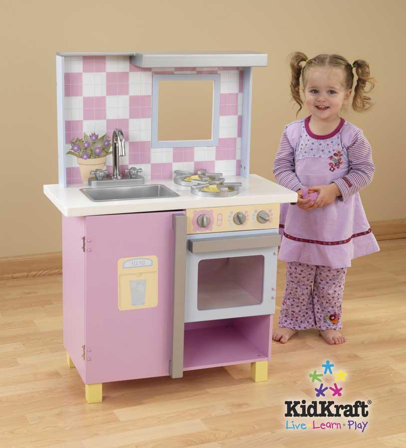 KidKraft Pastel Kitchen- Small - Kidkraft