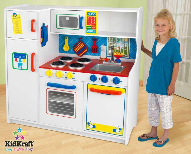 KidKraft Deluxe Lets Cook Kitchen - Kidkraft