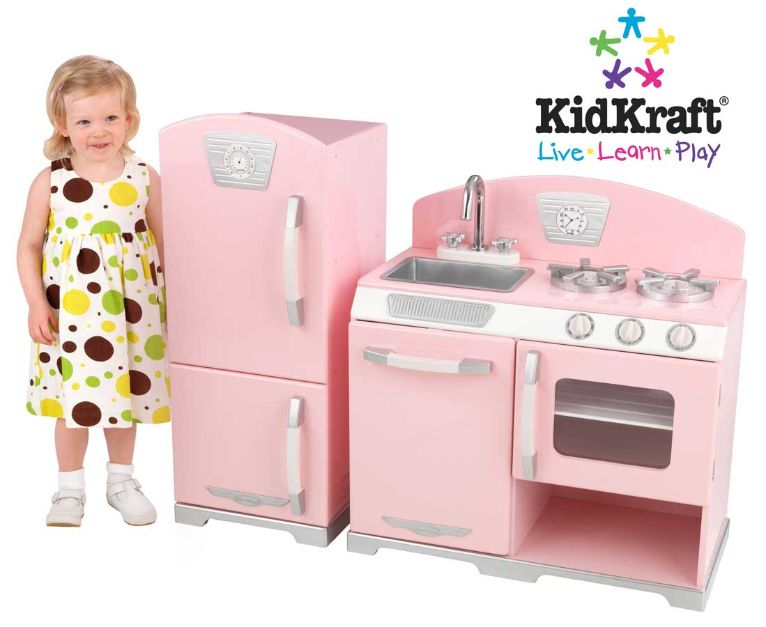 KidKraft Pink Retro Kitchen - Kidkraft