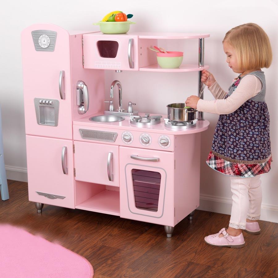 KidKraft Vintage Kitchen - Pink