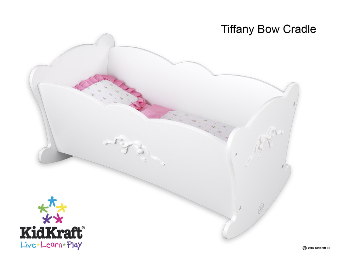 KidKraft Tiffany Bow Lil Doll Cradle - Kidkraft