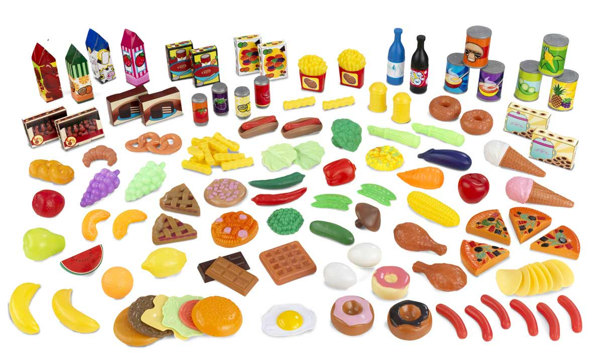 Play Food Set Toys : Kidkraft yummy play food set at homelement