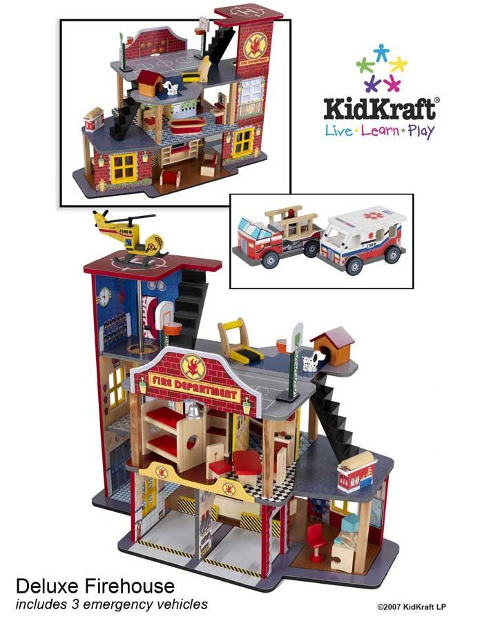 KidKraft Deluxe Fire Rescue Set - Kidkraft