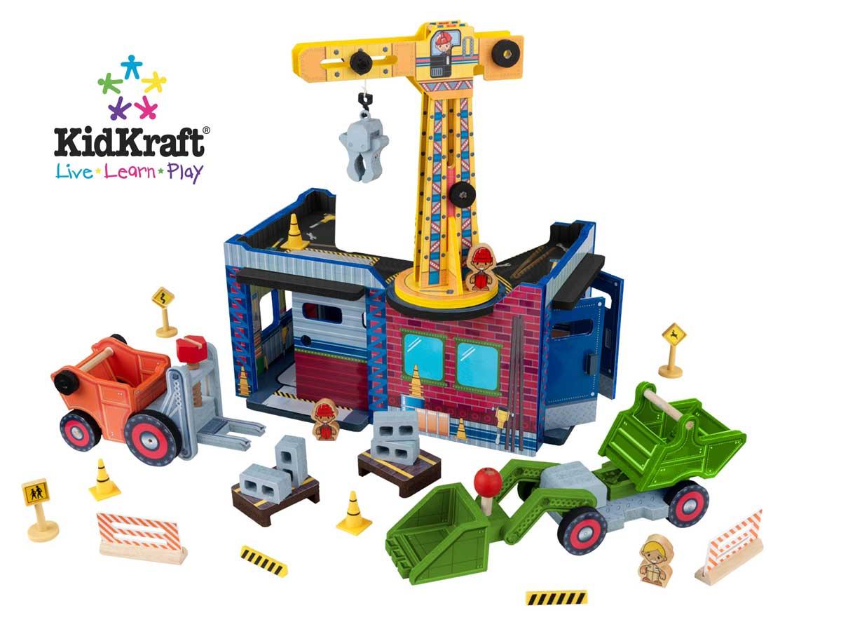 KidKraft Fun Explorer's Construction Play Set
