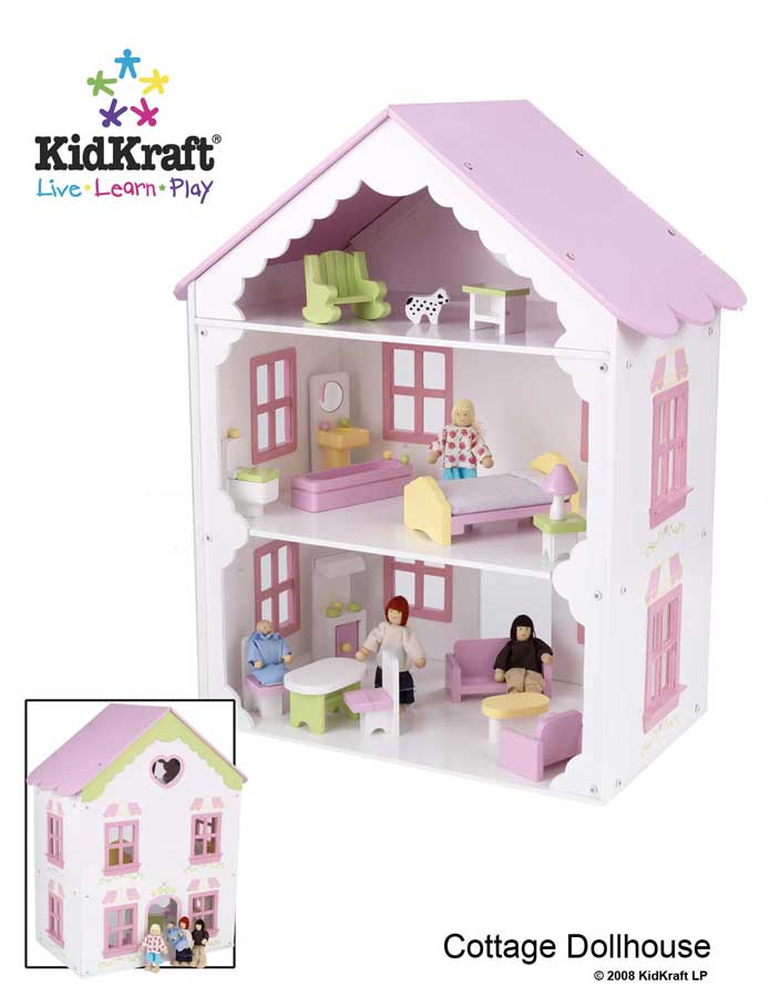 KidKraft New Doll Cottage - Kidkraft