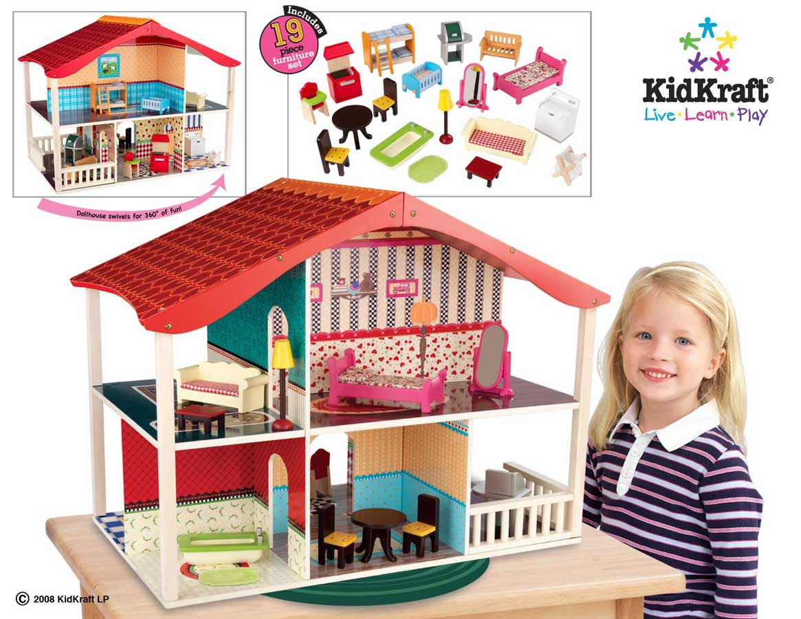 Line Art Doll House : Genessa dollhouses