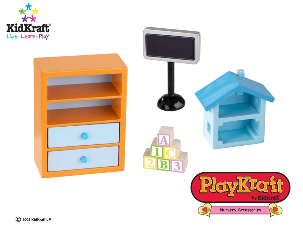 KidKraft Kids Bedroom Set 4 pieces - PlayKraft by Kidkraft