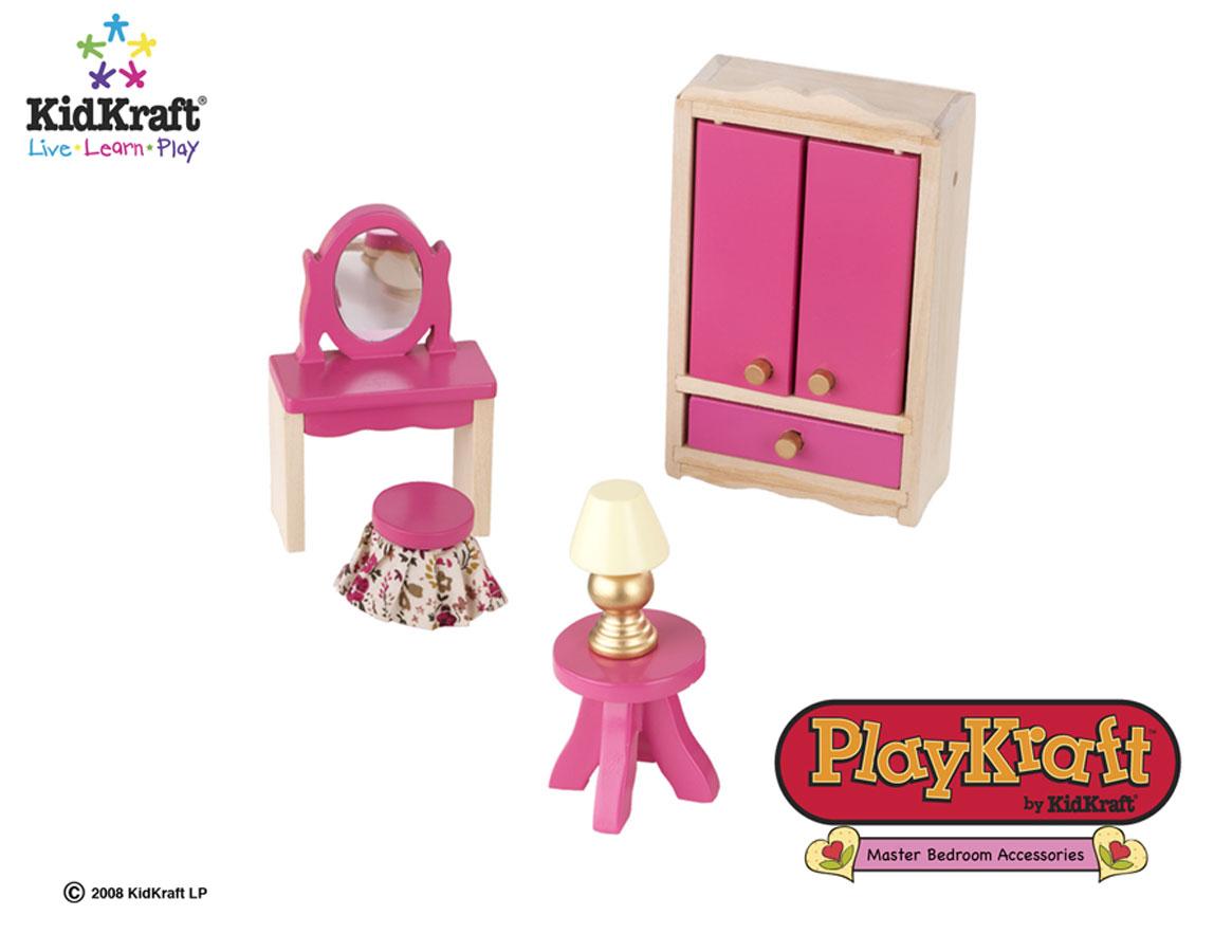 KidKraft Master Bedroom Set 5 pieces - PlayKraft by Kidkraft