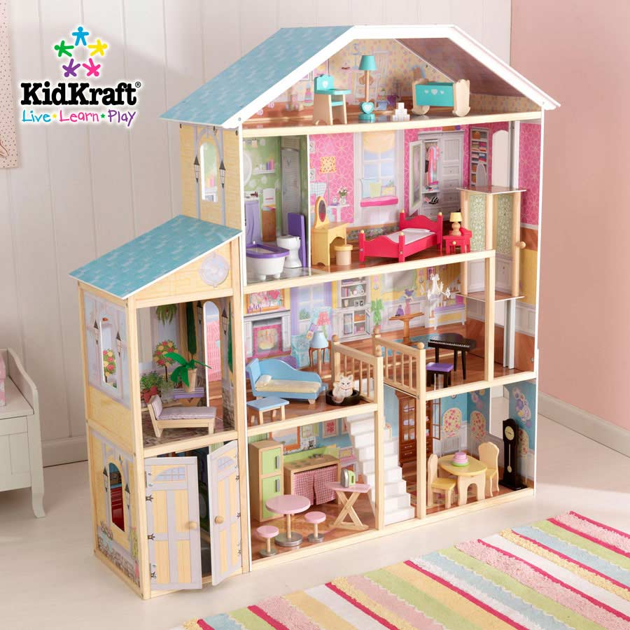 Kidkraft Majestic Mansion Dollhouse 65252 At Homelement Com