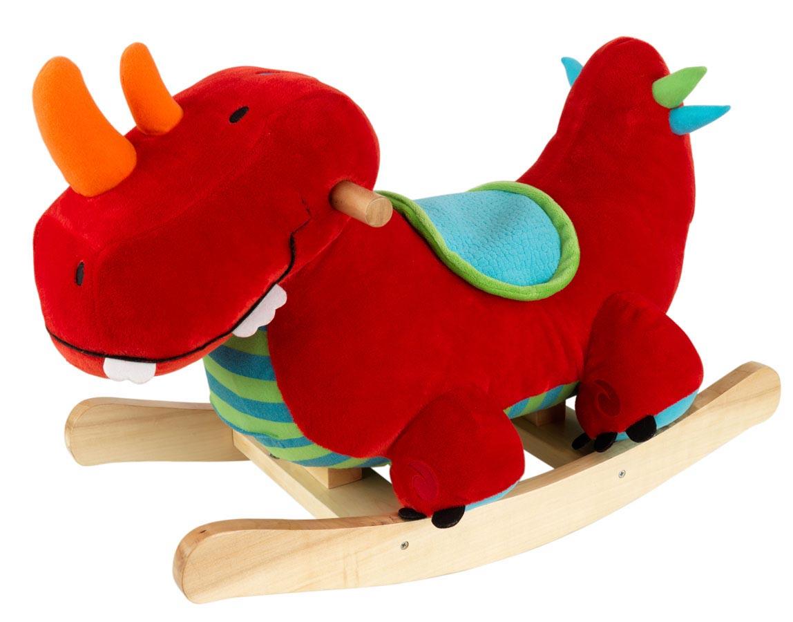 KidKraft Dinosaur Plush Rocker